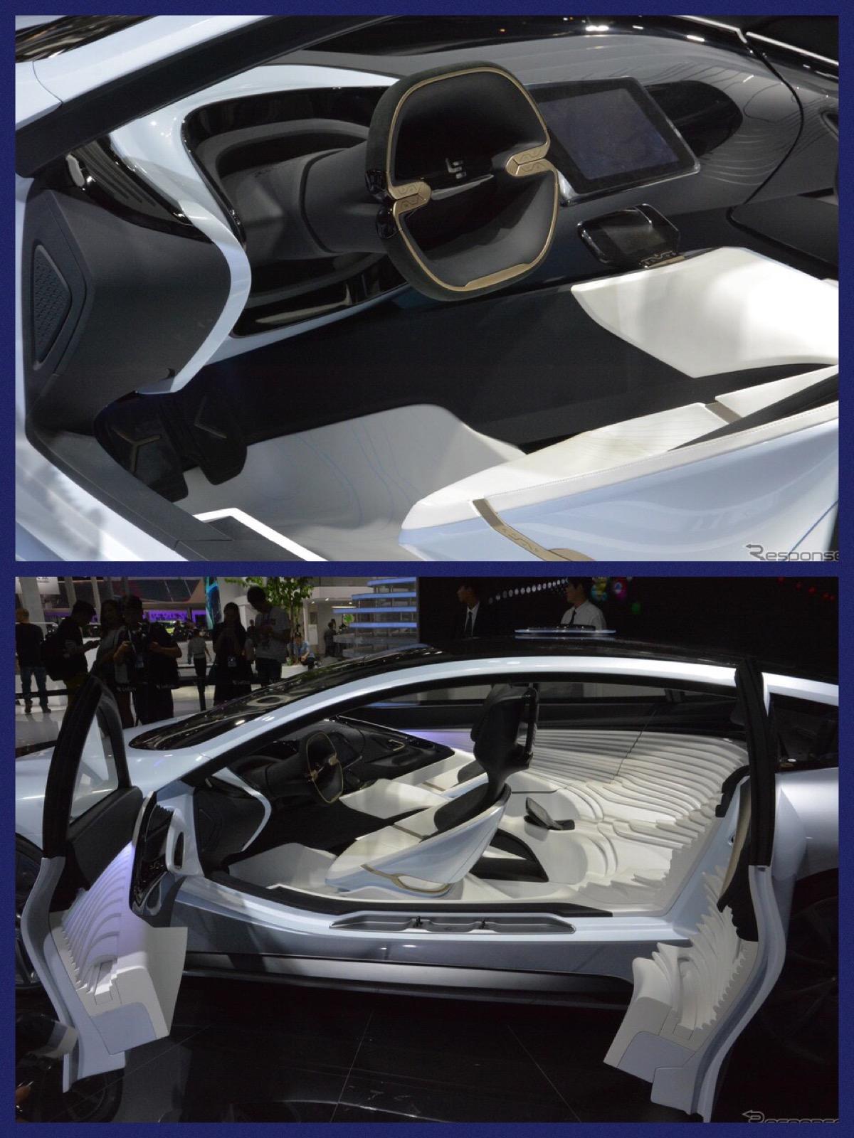 中国電動車両LeEcoの『LeSEE』