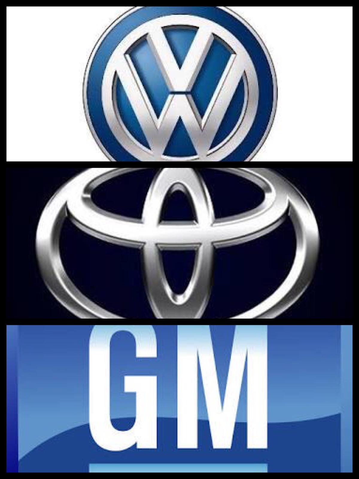トヨタ VW GM 1000万台クラブ
