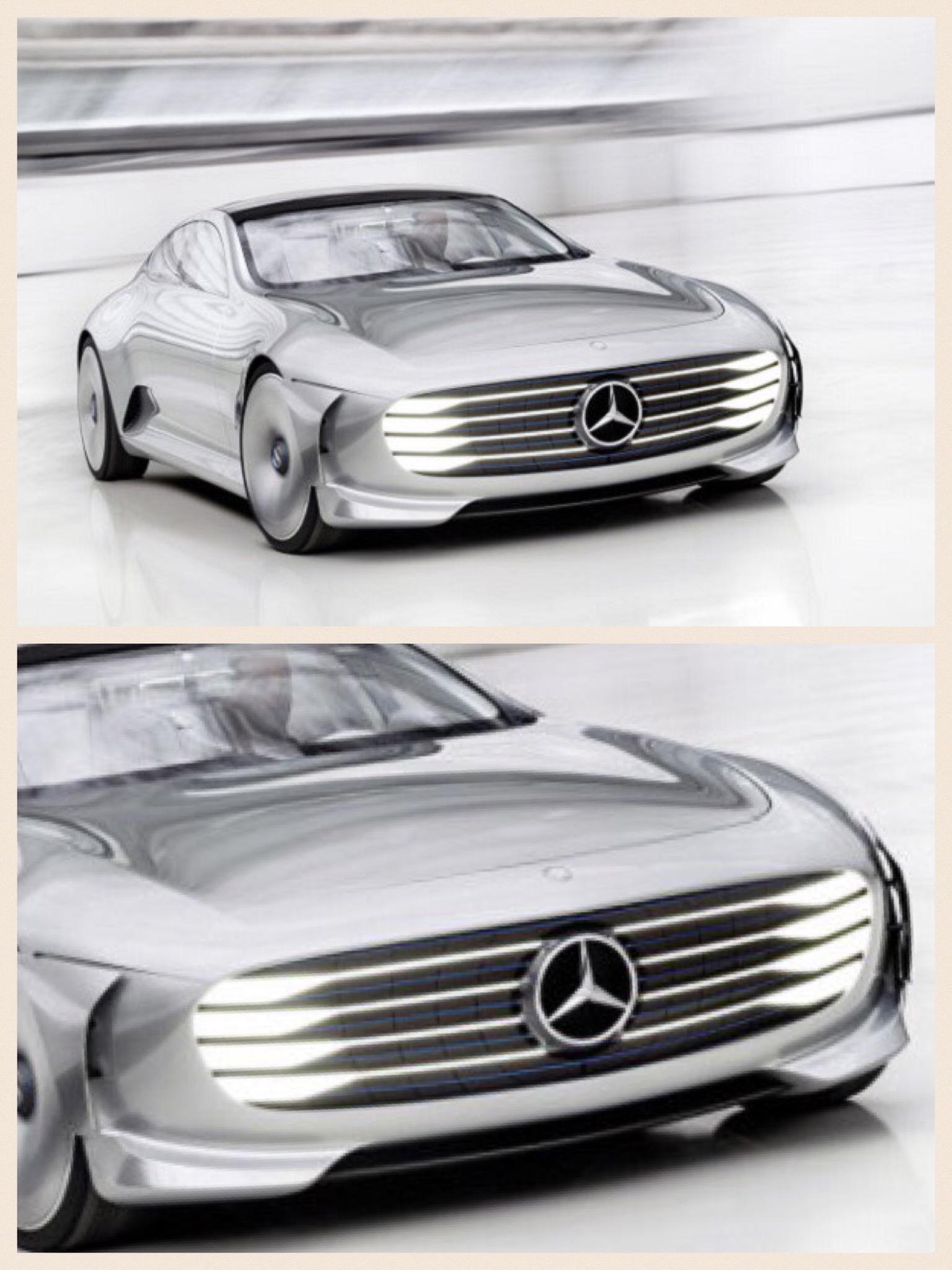 メルセデスベンツ EV パリモーターショー2016