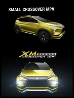 三菱 新MPV「MITSUBISHI XM Concept」