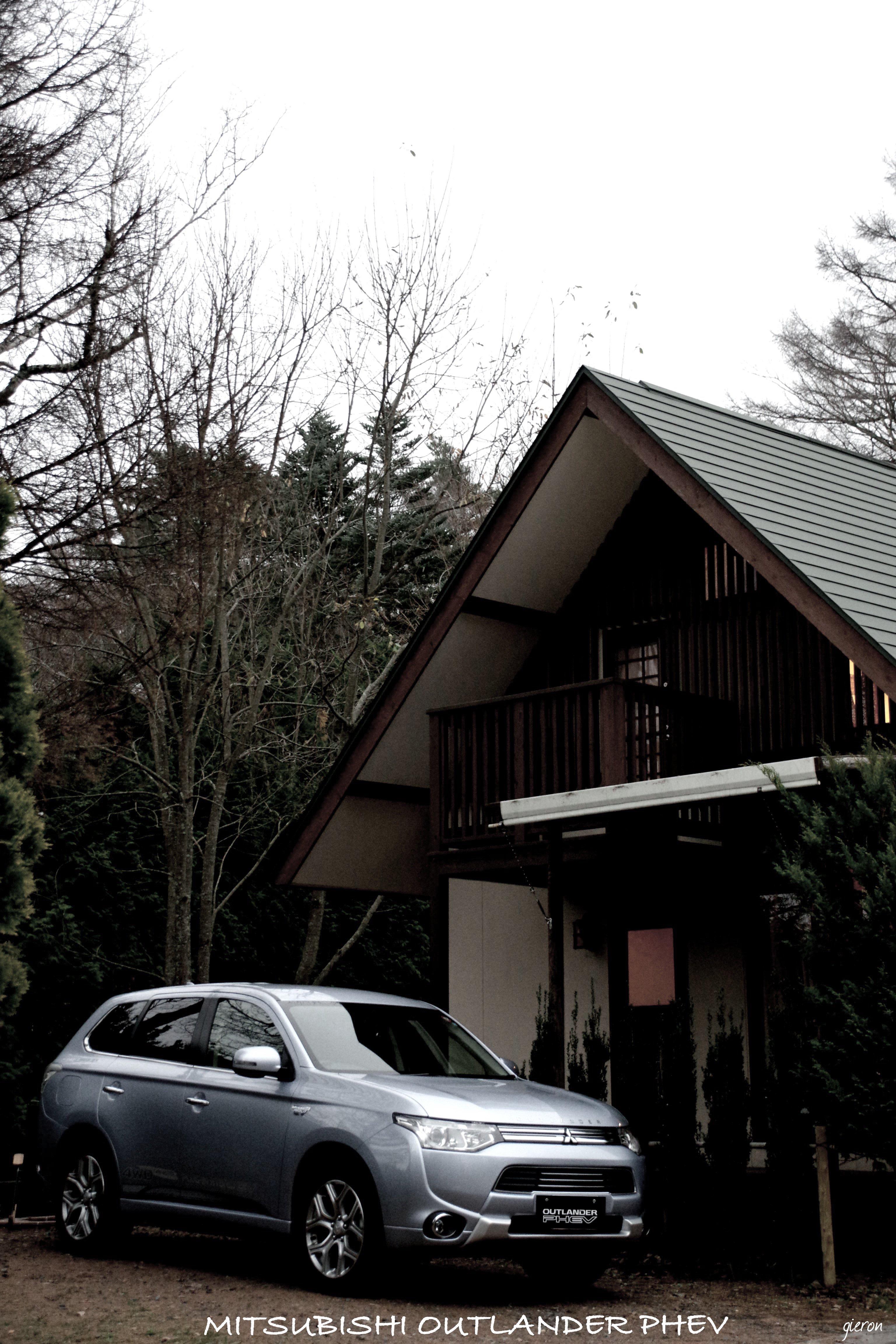 クルマの撮影スポット(東京近郊)その41) コテージと愛車