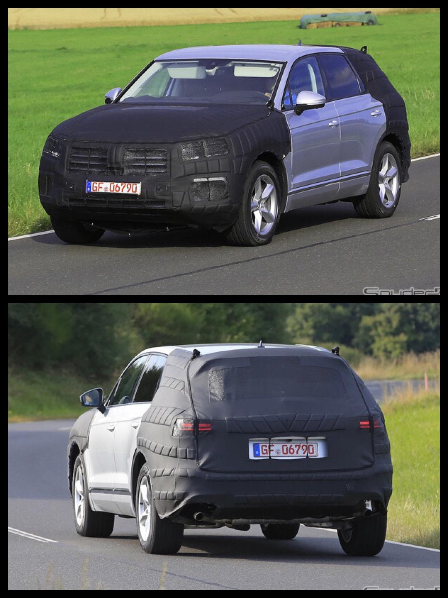 VW 新型トゥアレグ GTE