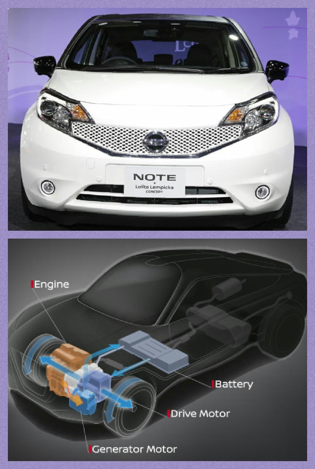 日産 e-power NOTE