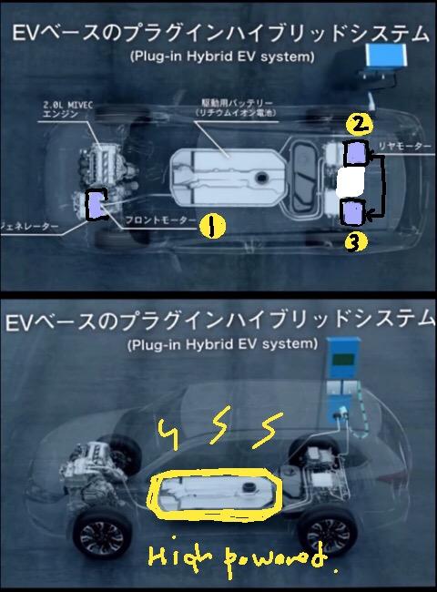 次期アウトランダーPHEV?? 三菱「GT-PHEV コンセプト」