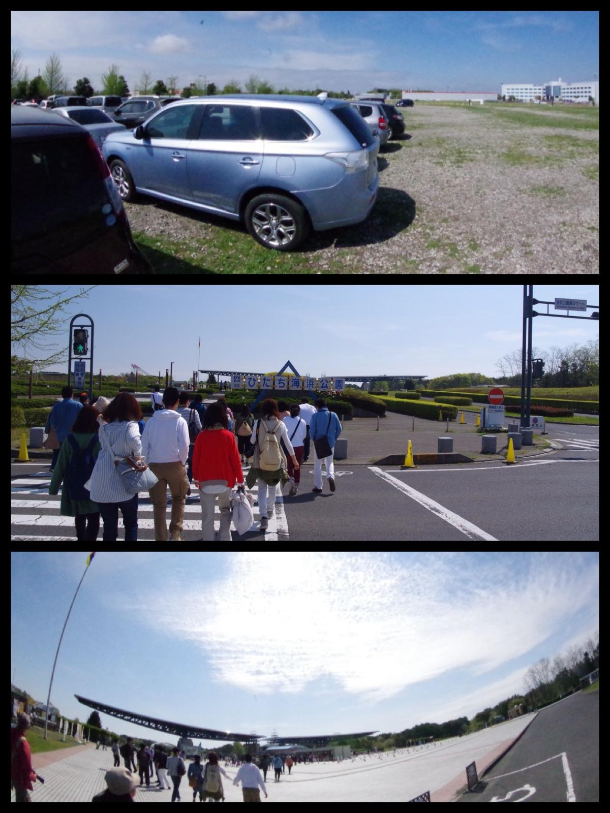 ひたち海浜公園 駐車場 2016
