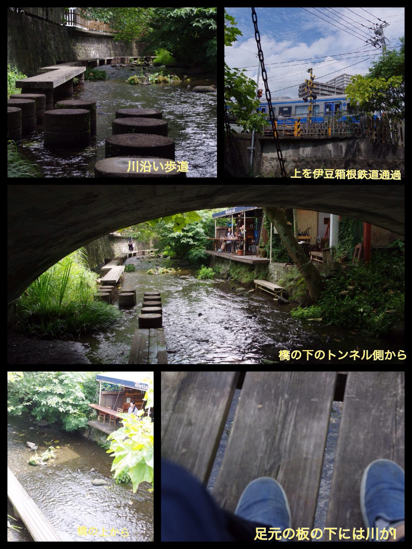 三島 川床カフェ ディレッタント