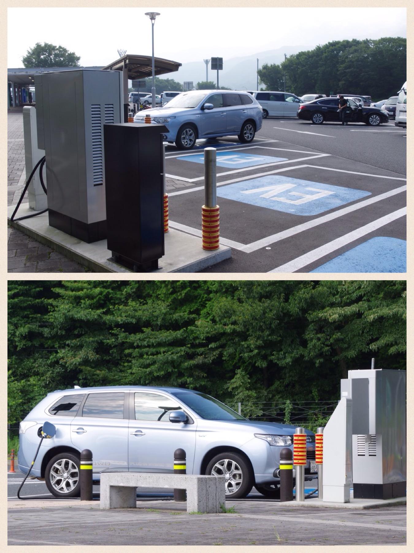 EV充電スポット 東名海老名SA上り