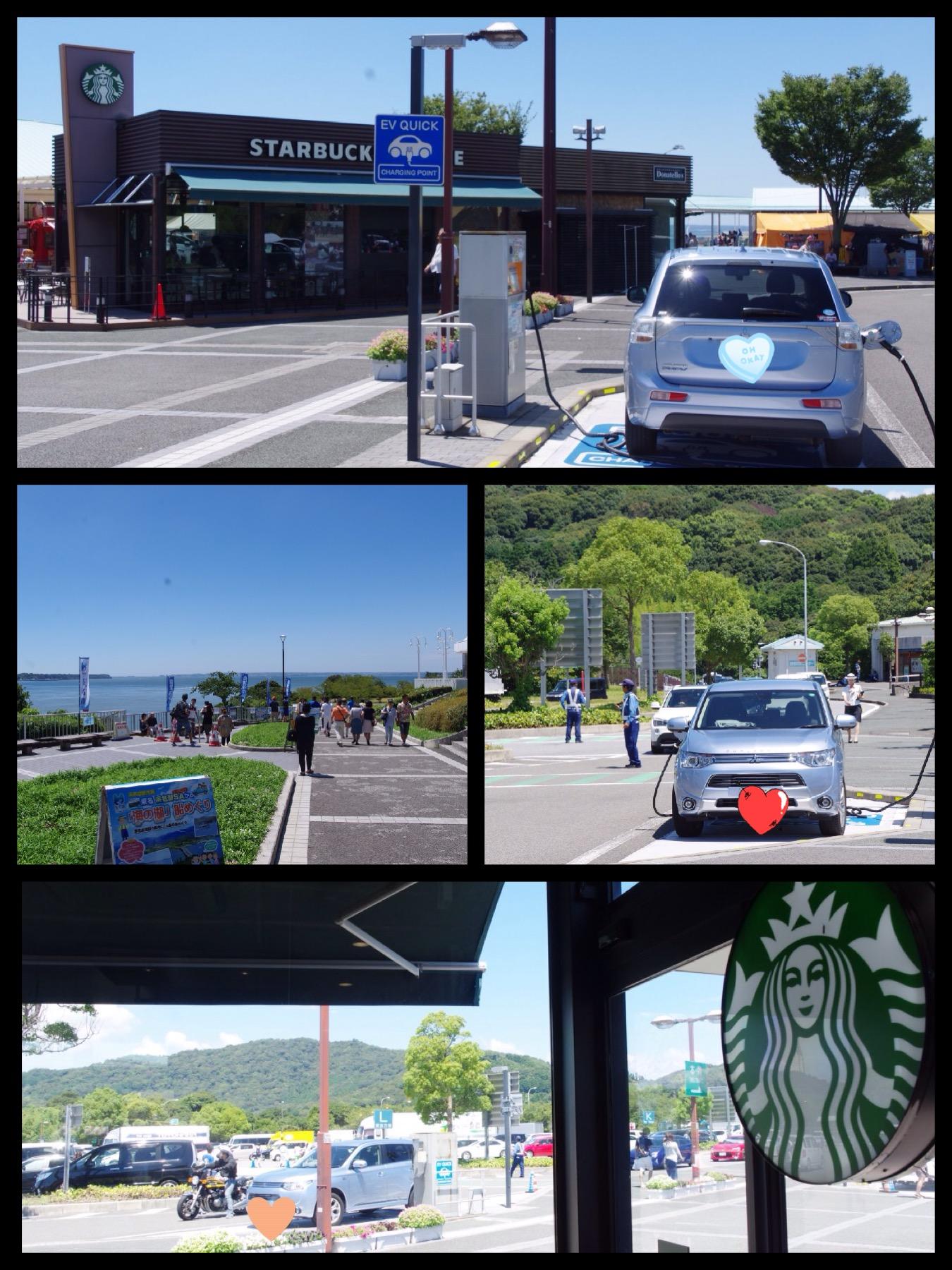 EV充電スポット 東名浜名湖SA上り