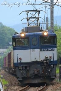 81レ(=EF64-1005牽引)