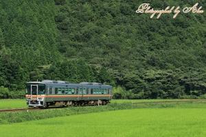 姫新線にて(3)