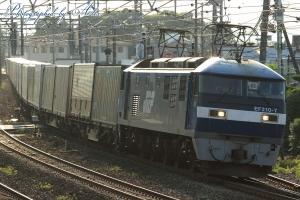 1051レ(=EF210-7牽引)