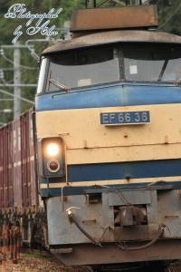 5070レ(=EF66-36牽引)