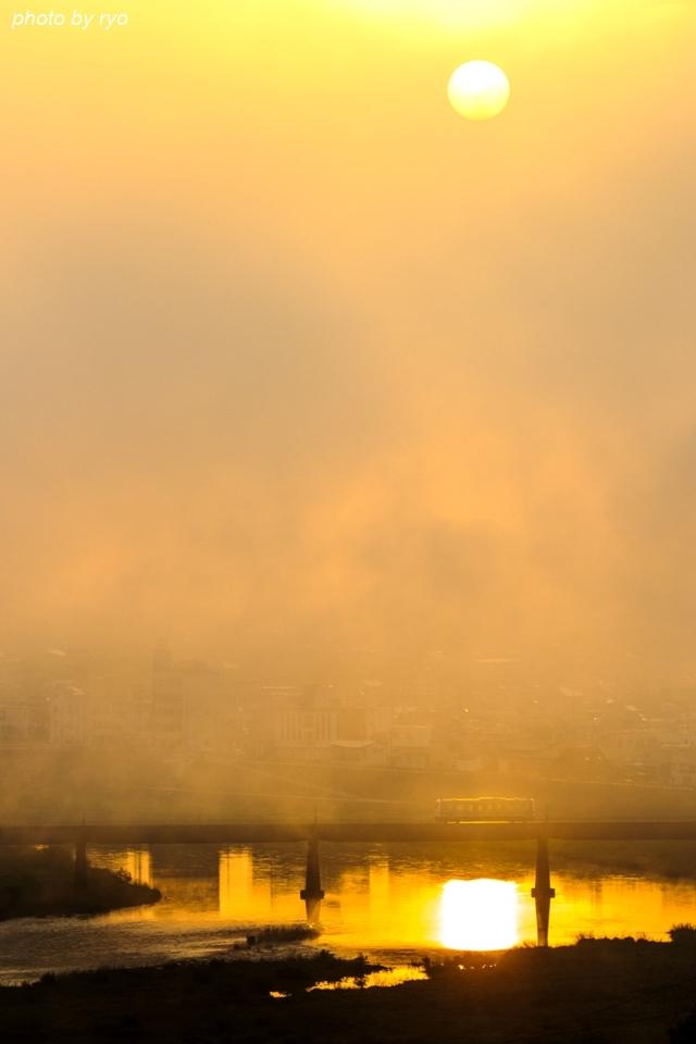 朝日の三江線