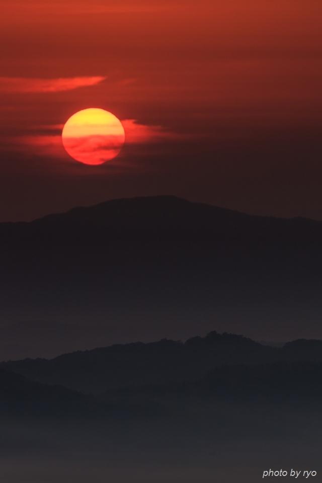 薄い霧の朝_7