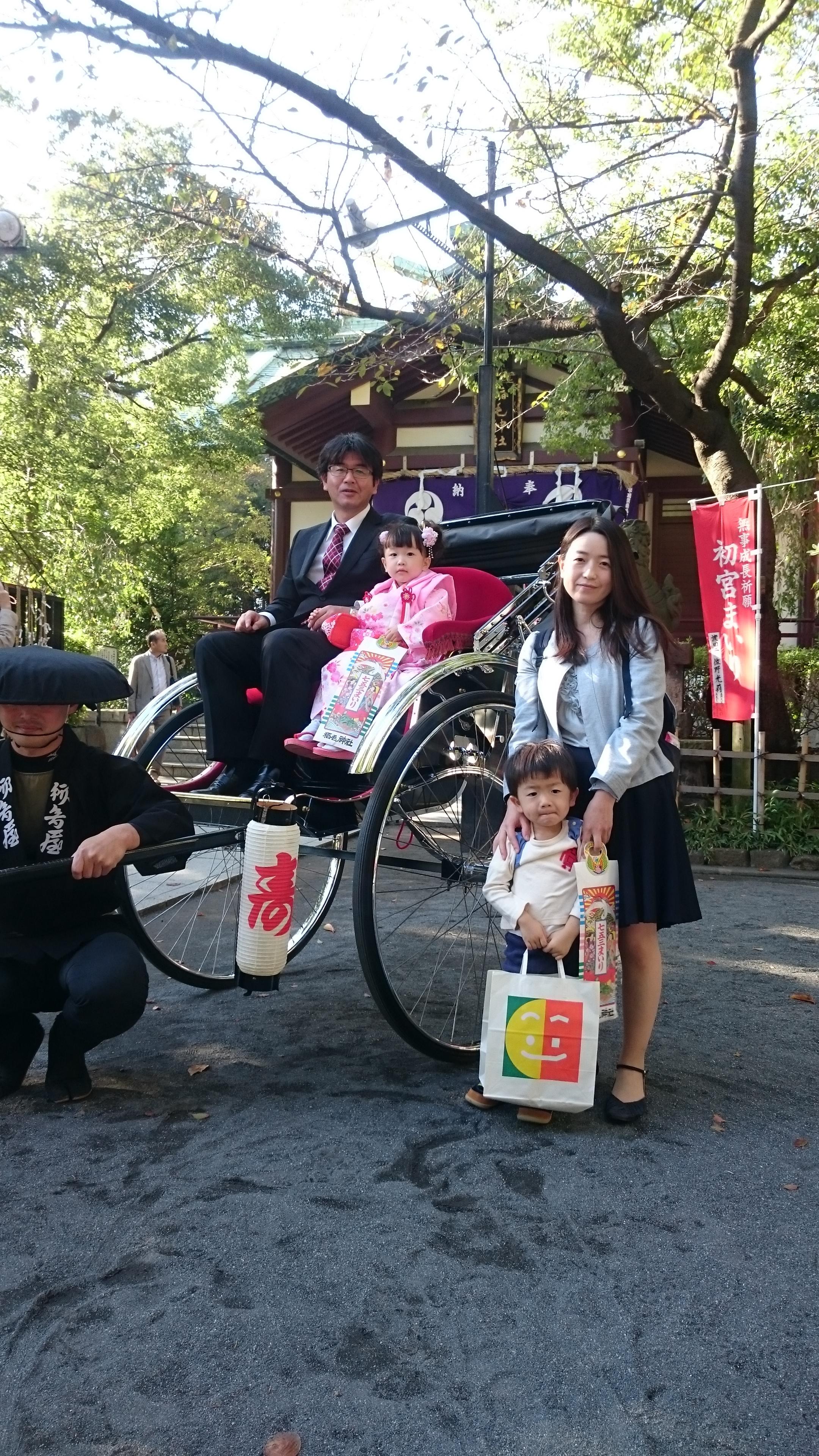 七五三稲毛神社
