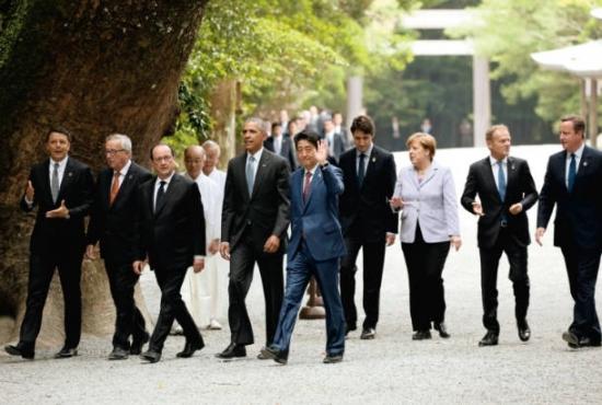 伊勢神宮 G7