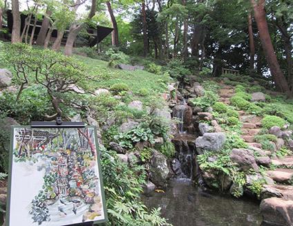 東京・国分寺/殿ケ谷戸庭園でスケッチ