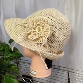 帽子 オフホワイト