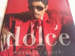 """【写真】鈴木雅之 ソロ・デビュー30周年記念アルバム""""dolce"""""""