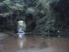 """【写真】スマホで撮った""""濃溝の滝""""の写真"""