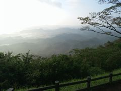 【写真】君津・鹿野山九十九谷公園から望む九十九谷の雲海