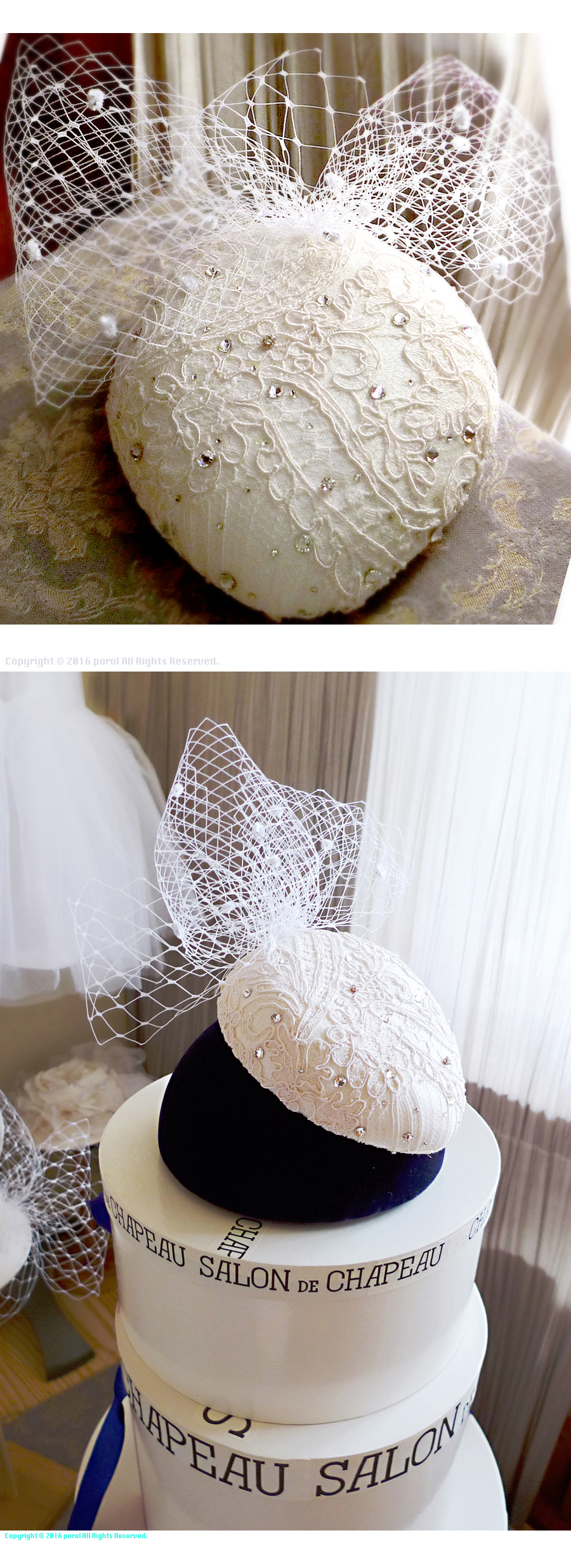 ★8  ミカドシルク 【絹Silk100%】 カクテルハット ヘッドドレス ウェディング 1.jpg