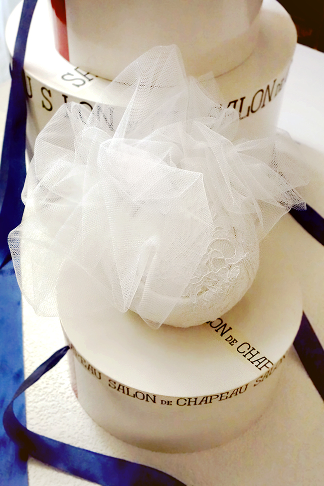 ♥1 シルク100%+仏製レース.トーク帽★.ヘッドドレス.ウェディング くしゅくしゅベール 小