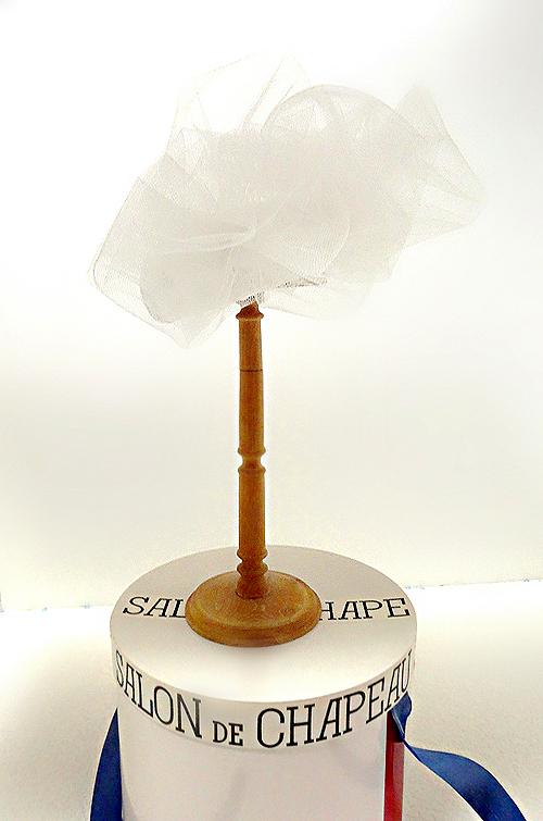 ♥2 シルク100%+仏製レース.トーク帽★.ヘッドドレス.ウェディング くしゅくしゅベール 小