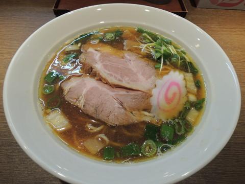 煮干中華そば(700円)