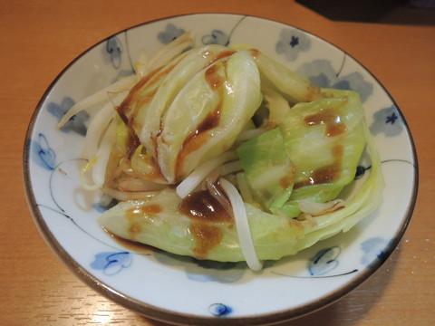 別皿でサービスの温野菜