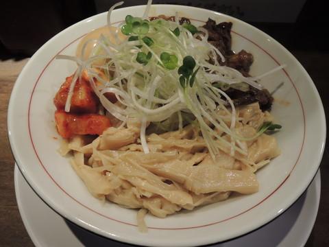 醤流 油そば(煮干油)(850円)