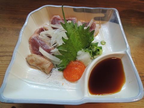 河内鴨ロースタタキ(850円)