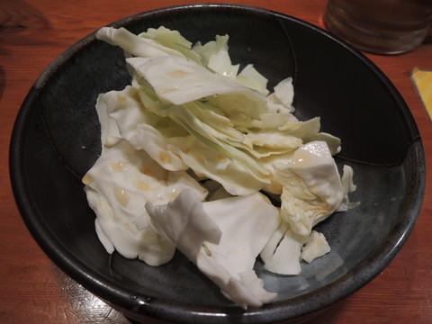 ・キャベツ盛(302円)