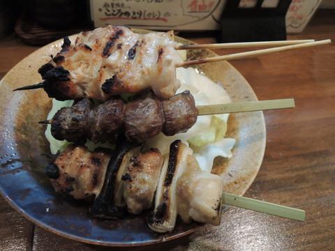 串盛の五種(735円)塩系