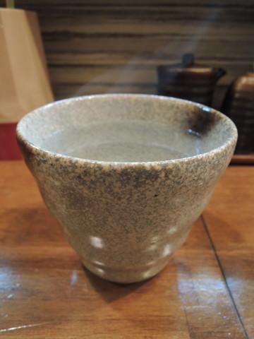 芋焼酎「すご芋」お湯割り(357円)