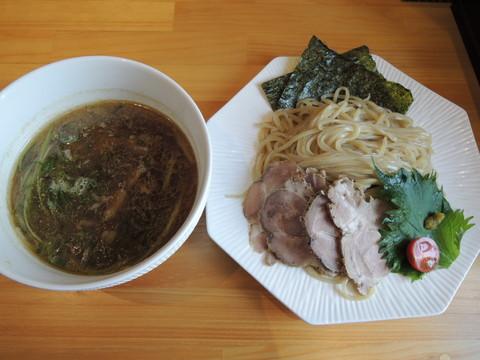 つけ麺 姫路(温)(1000円)+・ヒネ鶏トッピング(200円)