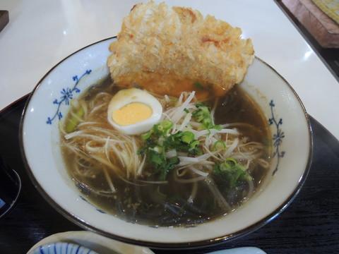 柳井甘露醤油ラーメン(750円)