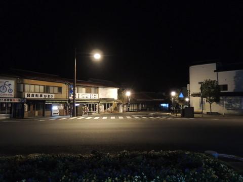 津和野駅の駅前