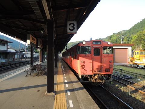 津和野発益田行普通(2531D列車)