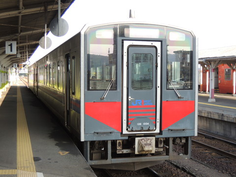 益田発米子行快速アクアライナー(3450D列車)