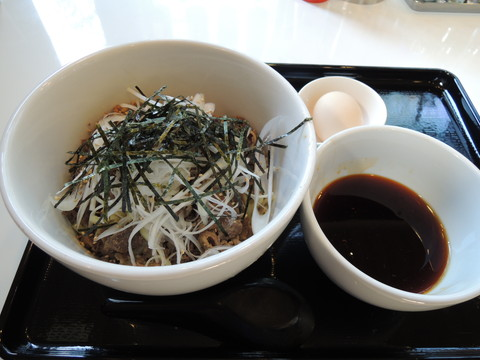 牛肉そばつけ麺(780円)