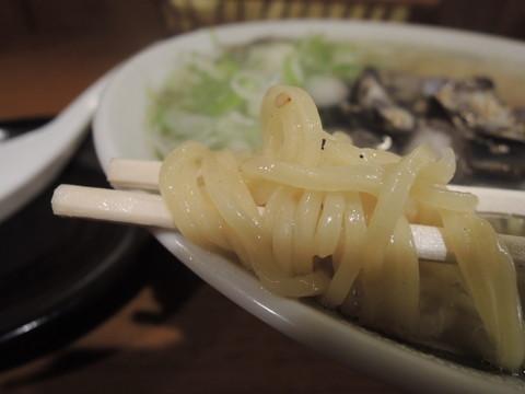 しじみラーメンの麺