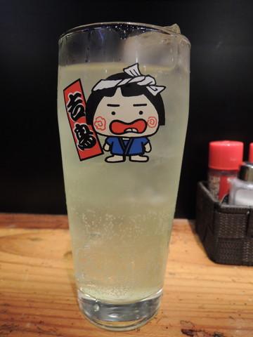 ライム酎ハイ(302円)