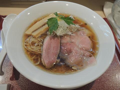 紀州鴨そば(870円)