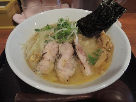 鶏そば~奇跡と感謝~(1200円)