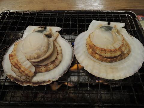 活貝焼 大盛り(ホタテ)