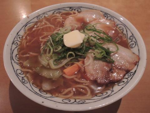 札幌!味噌バターラーメン(842円)