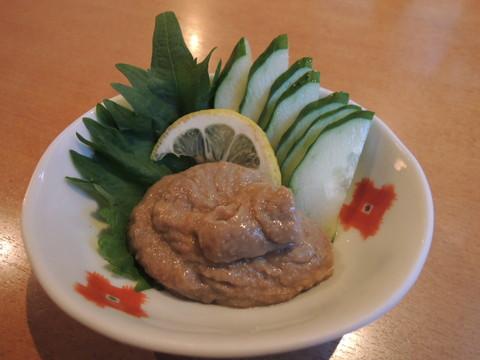 濃厚蟹味噌きゅうり(623円)