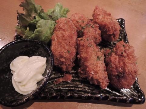 牡蠣フライ(626円)