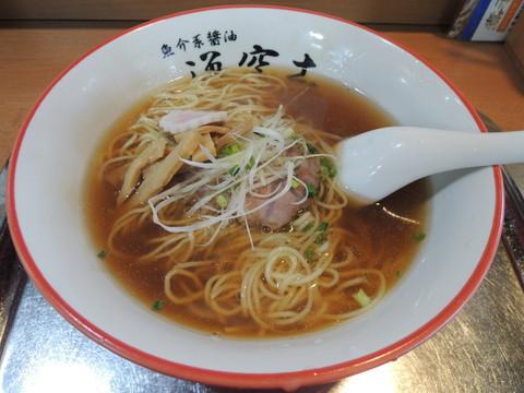 醤油らー麺(750円)